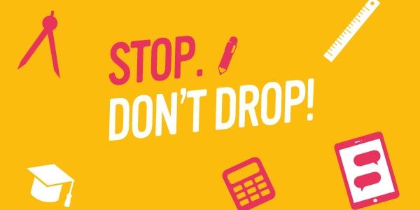 Text Stop. Don't Drop!